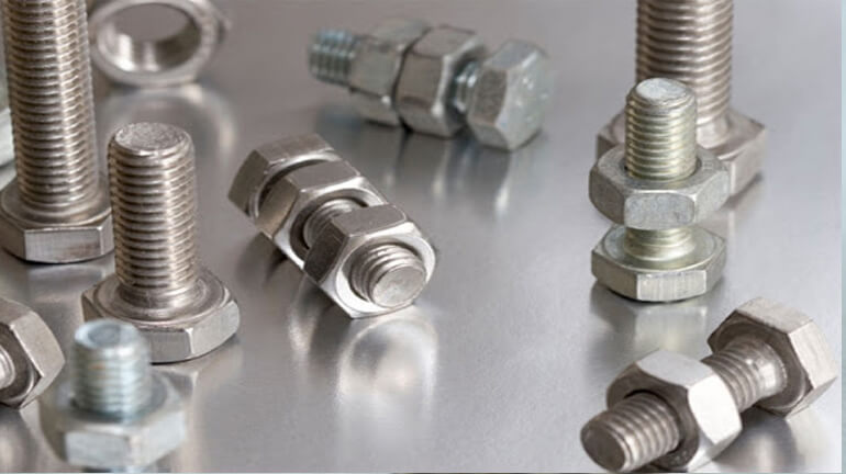 ASTM F2281 Monel 400 Stud Bolts